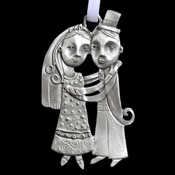 "Leandra Drumm ""Just Married"" Ornament"