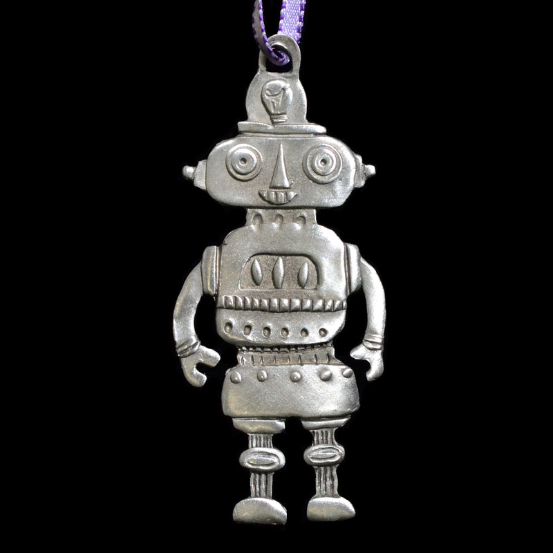 "NEW! Leandra Drumm "" Mrs. Robot"" Ornament 2018"