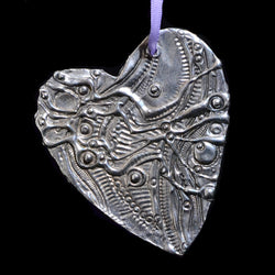 Don Drumm Medium Heart Ornament
