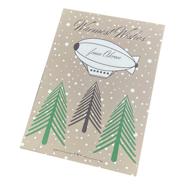 Elisa Drumm Designs Blimp Postcard