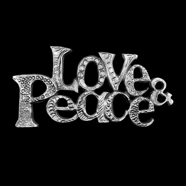 "NEW! ""Love & Peace"" Wall Hanging"