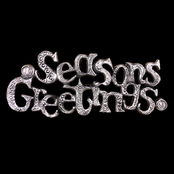 "NEW! ""Seasons Greetings"" Wall Hanging"