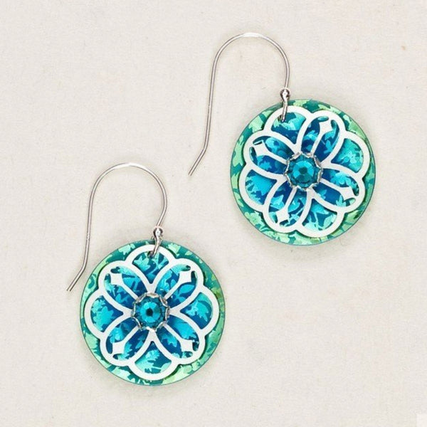Holly Yashi Open Rosette Earrings