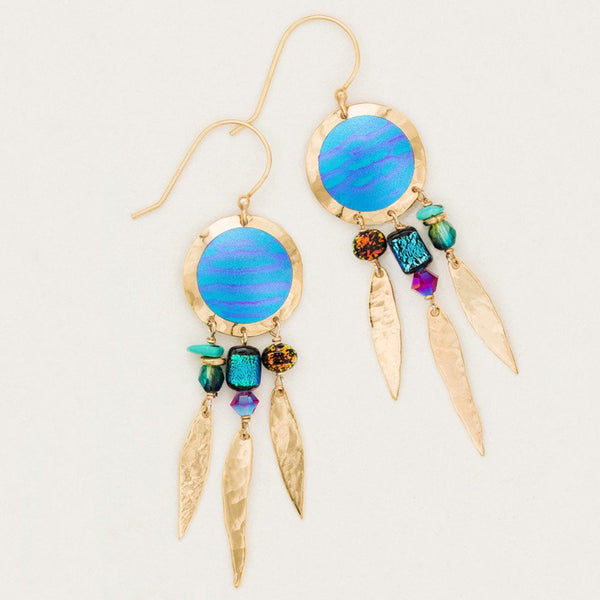 Holly Yashi Ibiza Lagoon Drop Earrings