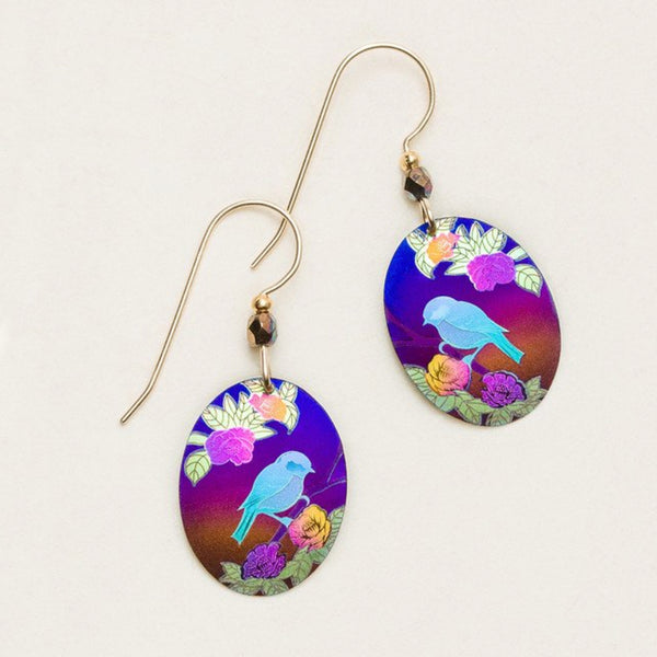 Holly Yashi Birdsong Oval Earrings