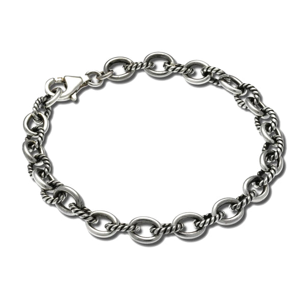 Zina Sterling Small Twisted Link Bracelet