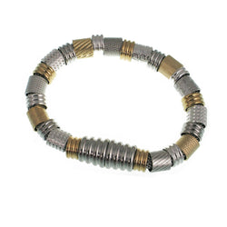 Erica Zap Mesh Bracelet with Textured Tubes