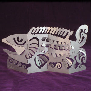 Don Drumm Fish Bend-A-Sculpture