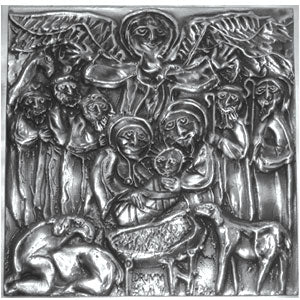 Don Drumm Large Nativity Tile