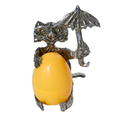 "Don Drumm ""Cat"" Egg Holder"