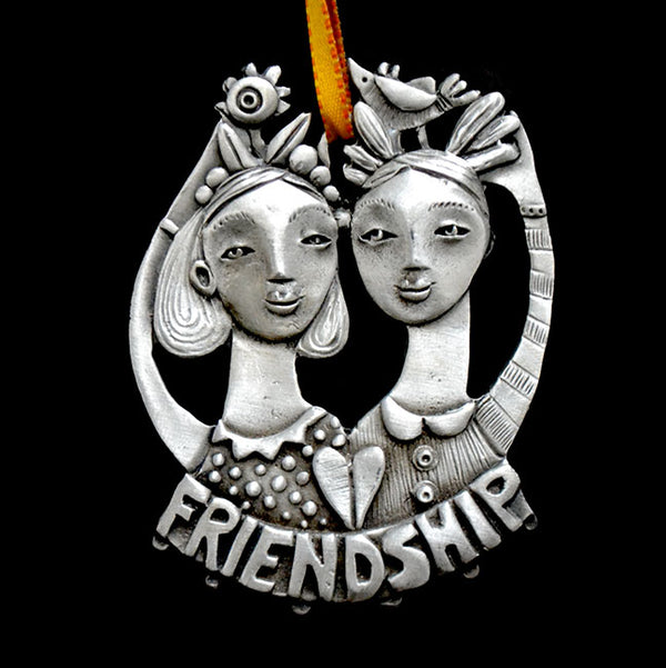 "Leandra Drumm ""Growing Friends"" Ornament"