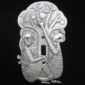 "Leandra Drumm ""In the Garden"" Switchplate"
