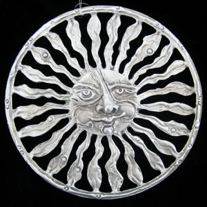 Don Drumm Sun Face with Narrow Rays