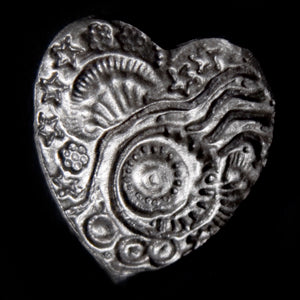 Don Drumm Little Heart Pin