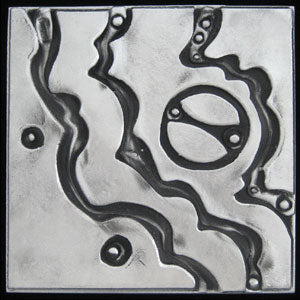 NEW! Don Drumm Medium Abstract Waves Trivet