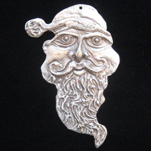 Don Drumm Large Santa Face Ornament