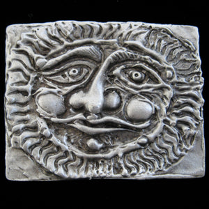 Don Drumm Rectangular Sunface Pin