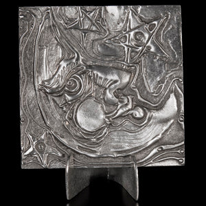 Don Drumm Man in the Moon Tile