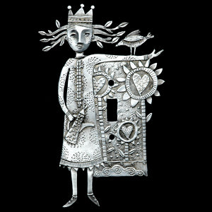 "Leandra Drumm ""Garden Love"" Switchplate"