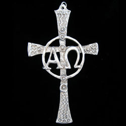 Don Drumm Alpha Omega Cross Pendant