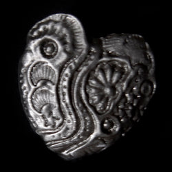 Don Drumm Garden Heart Pin
