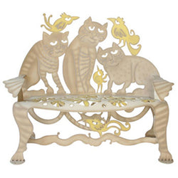 Don Drumm Cat Bench
