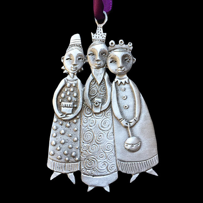"Leandra Drumm ""Three Kings"" Ornament"