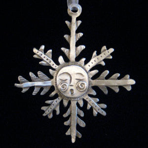 Leandra Drumm Singing Snowflake Ornament