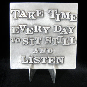 "Don Drumm ""Sit Still And Listen"" Tile"