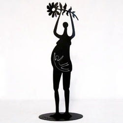 Don Drumm Mother with Child Sculpture