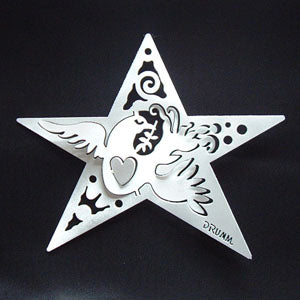 Don Drumm Dove with Star Ornament