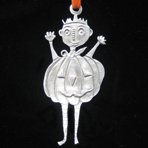 Leandra Drumm Pumpkin Boy Ornament