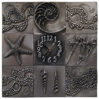 DISC Don Drumm 8 Tile Wall Clock