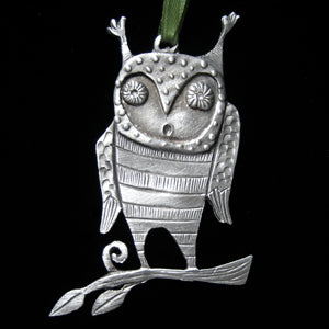 "Leandra Drumm ""Hoot"" Ornament"