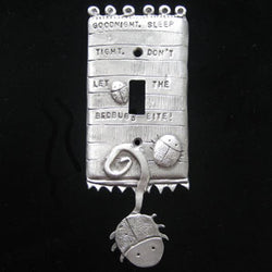 Leandra Drumm Bedbugs Switchplate