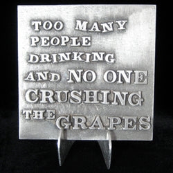 "Don Drumm ""No One Crushing the Grapes"" Tile"