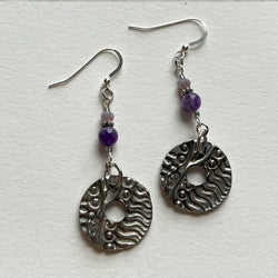 Artistic Preservation + Don Drumm Circle Earrings #2
