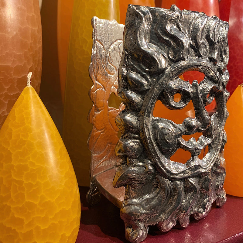 Sunface Table Lantern / Napkin Holder