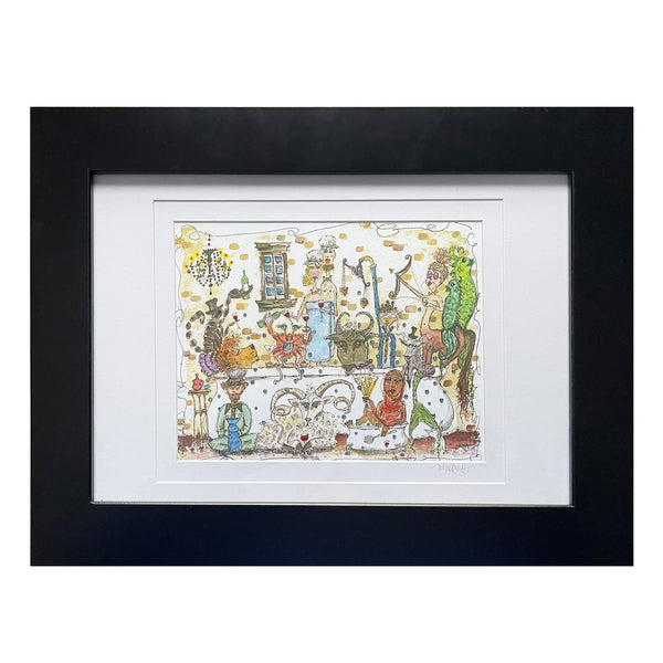 """Le Zodiaque"" Framed Print"