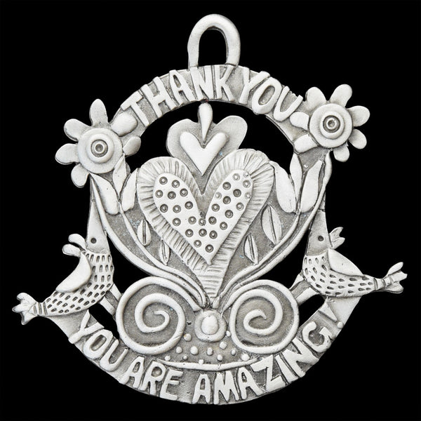 "Leandra Drumm ""You Are Amazing"" Ornament"