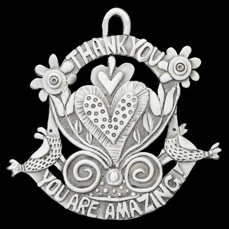 "NEW! Leandra Drumm ""You Are Amazing"" Ornament"