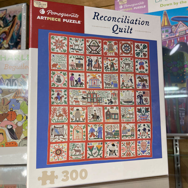 Pomegranate 300pc Puzzle- Reconciliation Quilt