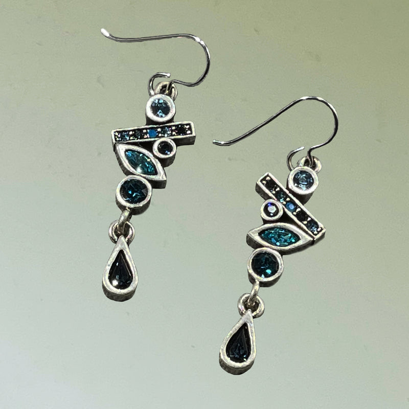 "Patricia Locke ""Evolve"" Earrings in ""Bermuda"""