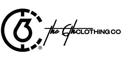 The 6th Clothing Co. Logo and Wordmark Header