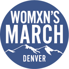 Womxn's March Denver Logo