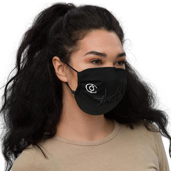 Black Signature Premium Face Mask - The 6th Clothing Co.