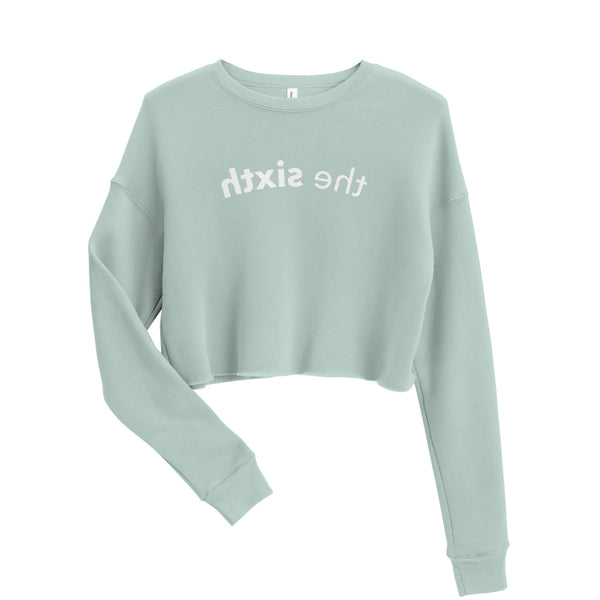 The Sixth Reflection Crop Sweatshirt