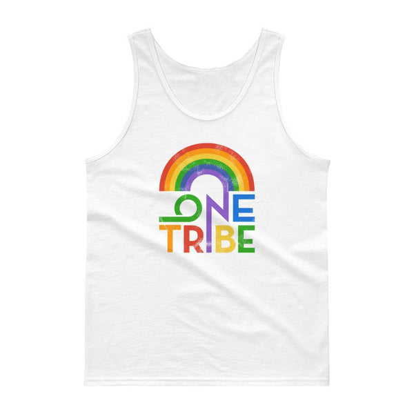 One Tribe Rainbow Unisex Tank Top