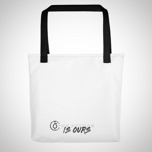 The Future IS OURS Tote Bag (Simple White)
