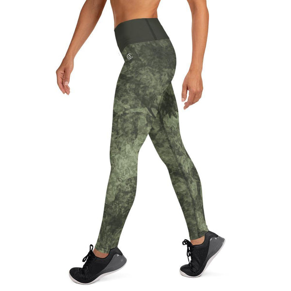 Army Green Yoga Leggings